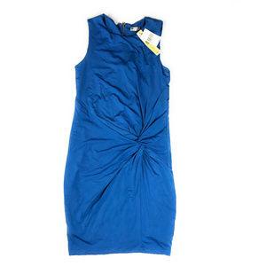 Kut From The Kloth Kiernan Blue Knit Dress NWT 8